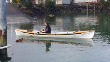 Skiff Rowing 009