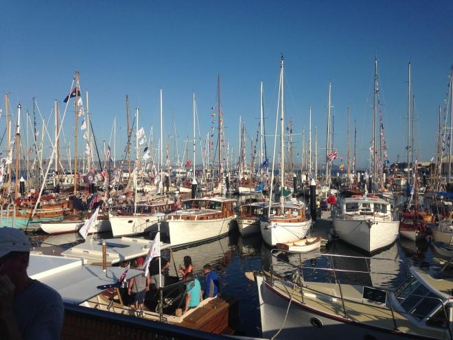 Australian Wooden Boat Festival 2015