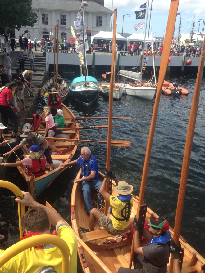 St Ayles Skiff, have a row event.
