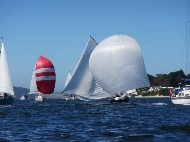 Same boat, Boxer arriving into Hobart.