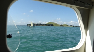 Passing Browns island